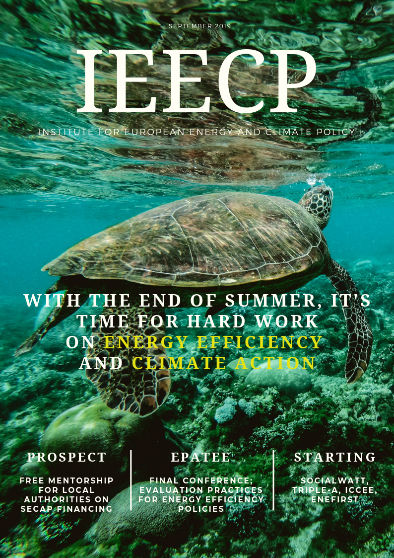 IEECP newsletter September 2019